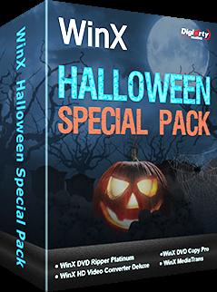 WinX Halloween Special Pack