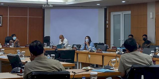 Hadiri Rapat Komisi, Viani Limardi Deklarasi dari Fraksi Rakyat