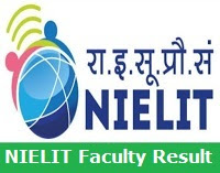 NIELIT Faculty Result