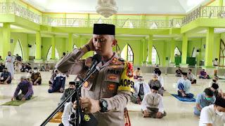 Kapolres Enrekang Bersama Forkopimda Syiar Ramadhan Di Masjid Besar Darussalam Kabere