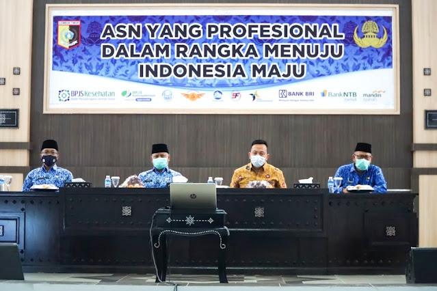 HUT ke 49, Korpri Lombok Timur gelar kuliah umum