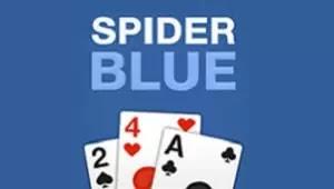 Örümcek İskambili Mavi - Spider Solitaire Blue
