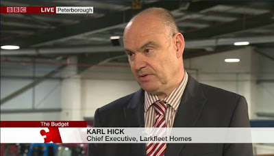 Karl Hick Larkfleet Homes Daily Politics