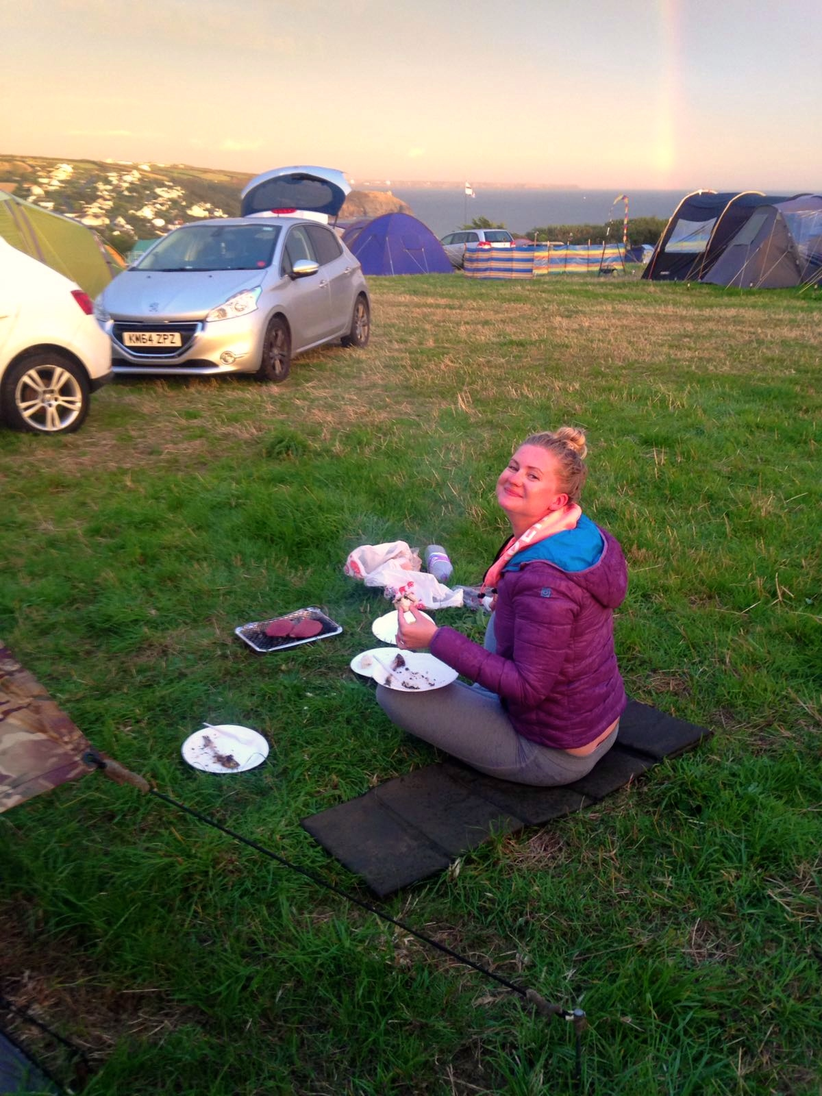Things to do in Cornwall, Cornwall guide, lifestyle blog, Higher Pentreath Campsite