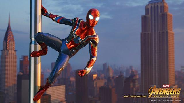 Se confirma el número de trajes de Spider-man en PlayStation 4