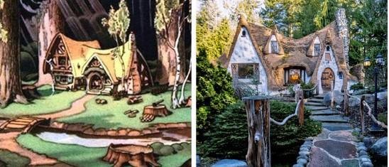 Wow, 10 Rumah Kartun Yang Dibangun dalam Kehidupan Nyata!