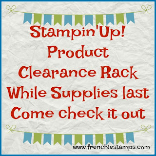 Stampin'Up!, Clearance Rack, Stampin'Up! special, Frenchiestamps,