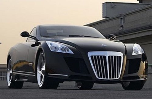 Luxury car maybach $ 8 Milllion