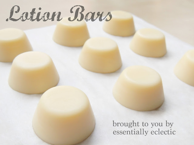 Lavender Lotion Bars - A Spring Twist