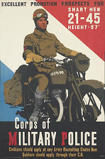Corps of Military Police Recruiting Poster