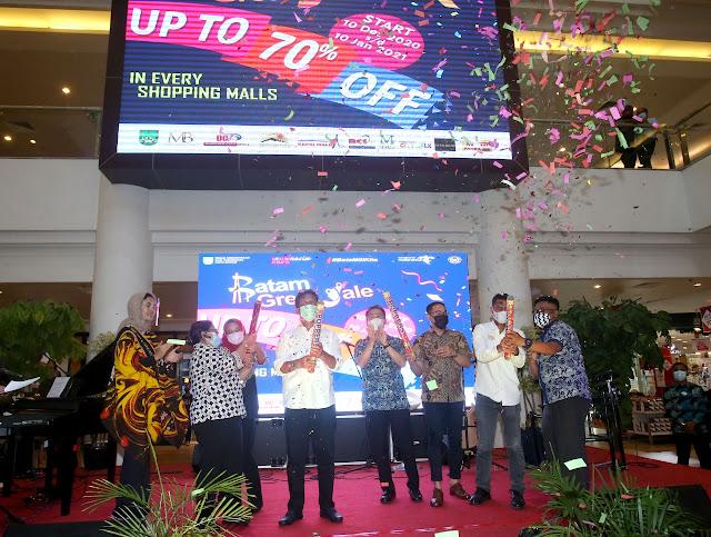 Wali Kota Buka Batam Great Sale 2020 #BataMiliKita