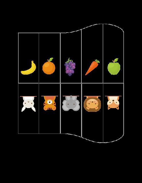 自製玩具-風琴投卡盒 主題圖卡 02