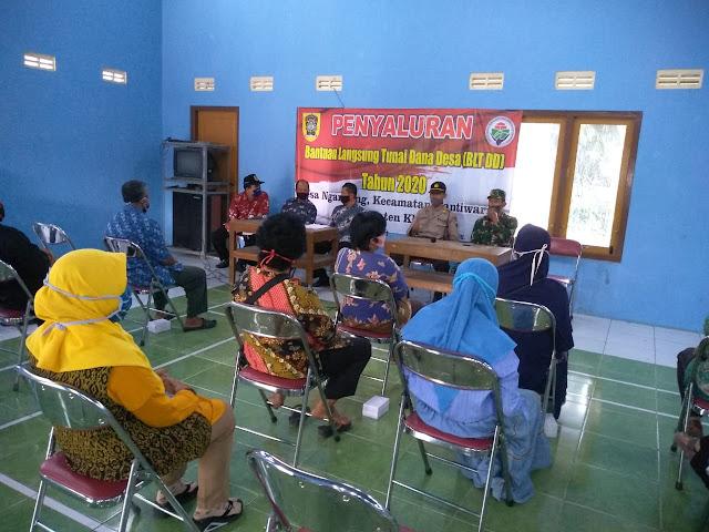 Batituud Koramil 10/Gantiwarno Hadiri Musdesus Di Desa Ngandong