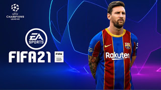 FIFA 2021 PPSSPP Camera PS4 Android Offline 500MB Best Graphics New Kits Transfers Update 2021