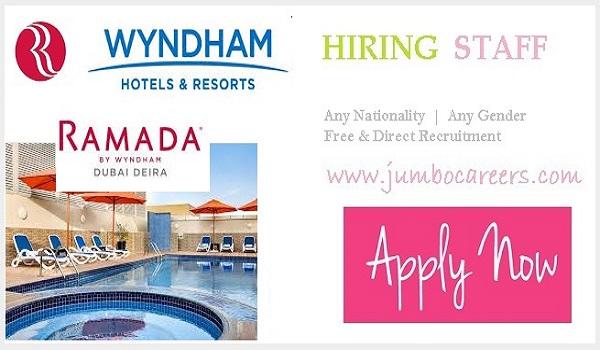 ramada hotels jobs dubai, latest hotel management jobs in dubai 2021