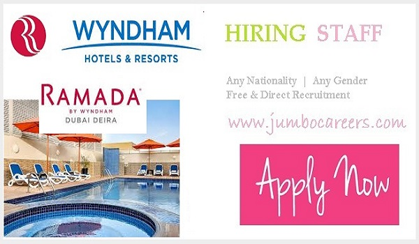Ramada by Wyndham Deira Dubai Jobs and Careers 2021