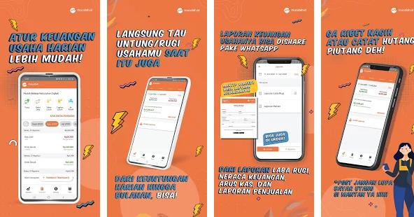 Aplikasi Catatan Keuangan Toko Versi Android Yang Terbaru - Sejatinya pemilik toko mampu menganalisis keuangan dari setiap transaksi penjualan yang dilakukan, tetapi waktu yang dibutuhkan tidak sedikit kalau jumlah transaksi semakin meningkat pada hari – hari berikutnya, sehingga membuat rasa sulit untuk mengatur catatan keuangan toko pun semakin membebani fikiran. Belum lagi kalau banyak konsumen yang belanjanya kasbon atau utang.  Hidup di era digital saat ini sebenarnya ada banyak cara untuk mengatasi masalah yang sering dihadapi para pemilik toko untuk mengatur catatan keuangan toko, hanya saja masih banyak yang belum mengetahui cara tersebut.  Padahal saat ini aplikasi catatan keuangan toko versi android sudah bisa dijadikan solusi terbaik untuk mangatur keuangan toko, bahkan para developer aplikasi catatan keuangan toko bersaing menawarkan aplikasi nya untuk digunakan para pemilik toko.    Ditambah lagi daya ingat manusia tidak sempurna untuk mengingat seluruh transaksi secara detail jika jumlahnya sudah mencapai ribuan di setiap bulannya, membuat para developer benar – benar melihat peluang ini untuk membantu kamu dalam membuat catatan toko yang valid dengan mudah.  Pada postingan kali ini kami ingin berbagi informasi tentang 5 aplikasi catatan keuangan toko versi android yang terbaru untuk kamu jadikan sebagai referensi aplikasi catatan keuangan toko yang bisa dimanfaatkan dalam mengatur catatan keuangan toko kamu agar pengolahan data laporan transaksi menjadi lebih terorganisir dan aman dari kejahatan orang yang tidak bertanggungjawab.   Ok silahkan disimak yah ulasan tentang 5 aplikasi catatan keuangan toko versi android berikut ini …  5 Aplikasi Catatan Keuangan Toko Versi Android Yang Terbaru Aplikasi Halokas Rekomendasi aplikasi catatan keuangan toko versi android yang pertama ini dirancang sedemikian rupa oleh developer PT FinAccel Digital Indonesia dengan fitur – fitur yang mudah digunakan untuk membuat catatan keuangan toko yang jauh lebih praktis di