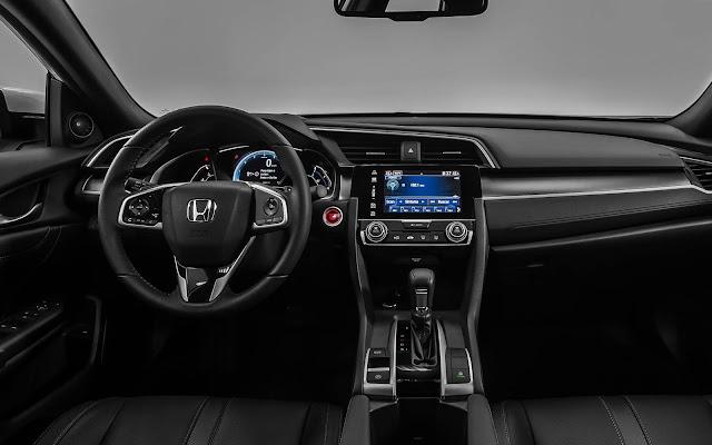 Novo Honda Civic 2017 EXL - painel