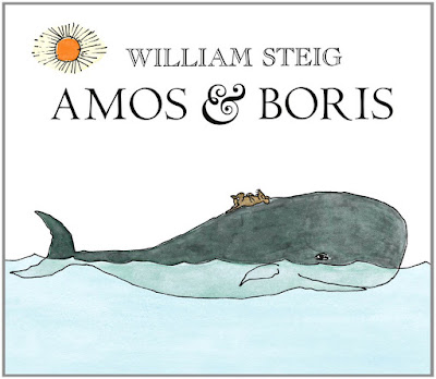 Amos & Boris, part of William Steig book review collection