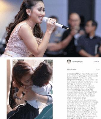 Nggak Betah Di Cerca Para Haters Ayu Ting Ting Curhat Di Instagram