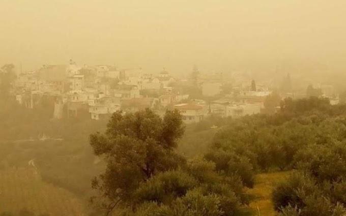Αφρικανική σκόνη, λασποβροχές και θερμοκρασία στα ύψη από την Παρασκευή