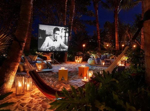 Easy DIY Outdoor Cinema in The Garden - Home Garden Cinema 3