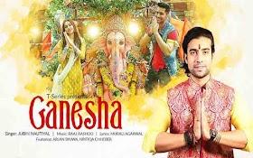 गणेशा GANESHA LYRICS in Hindi – Jubin Nautiyal