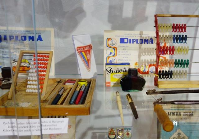 student ink, vintage communist school supplies