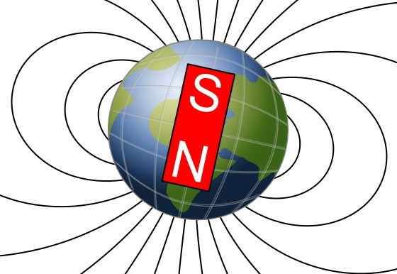 sifat magnet selalu menunjuk utara dan selatan bumi