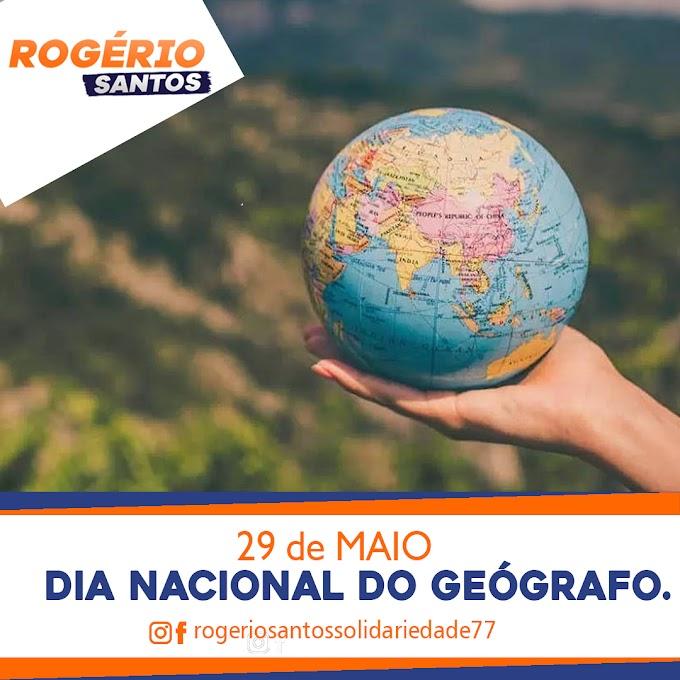 #ROGÉRIOSANTOSSOLIDARIEDADE77 PARABENIZA TODOS OS GEÓGRAFOS.