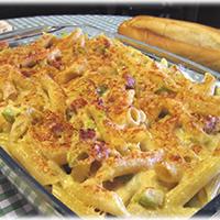 http://recetasoriginalesblog.blogspot.com.es/2015/02/graten-pasta-crema-jamon-calabacin.html