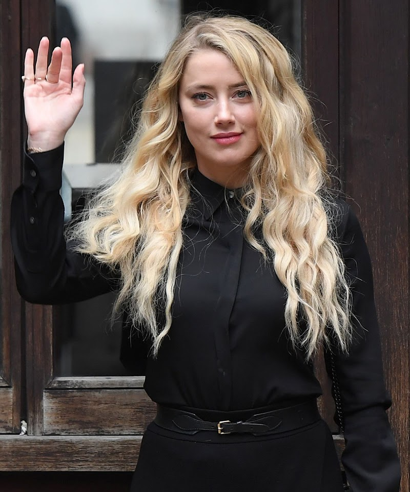 Amber Heard Spotted at Royal Courts of Justice in London 28 Jul -2020