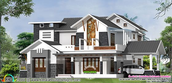 Modern contemporary house