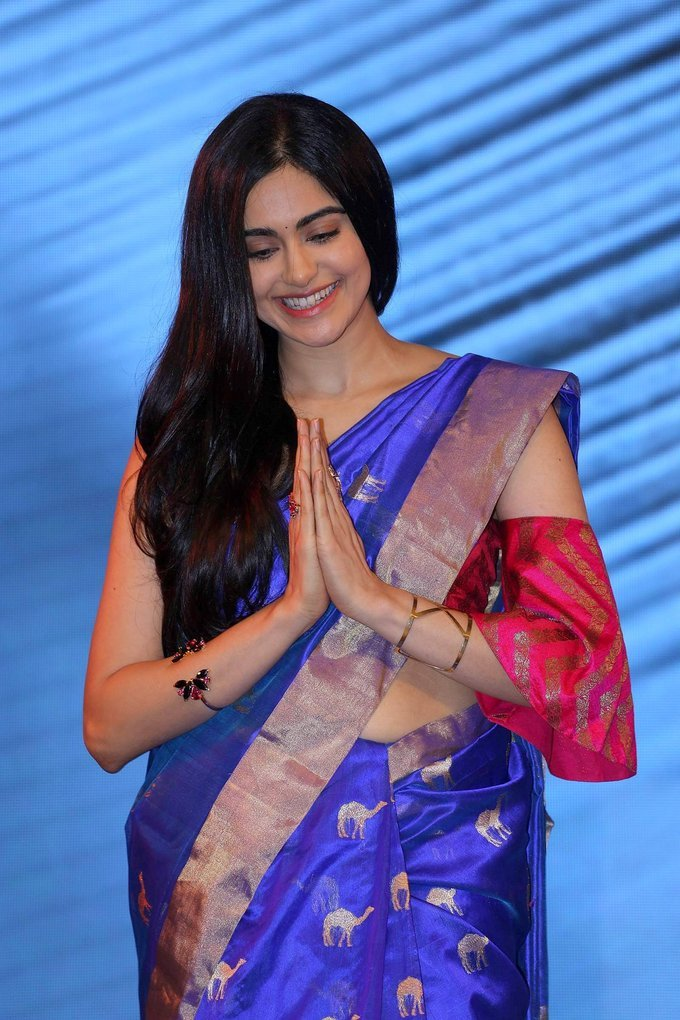 Adah Sharma at Woven 2017 Fashion Show Photos