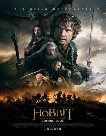 The Hobbit The Battle of the Five Armies 2014 Extended Hindi Dual Audio Full Movie Free Download