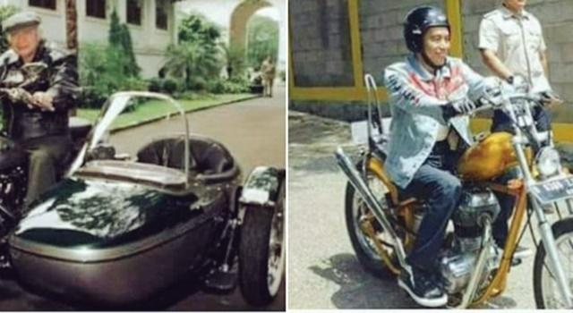 Posting Foto Soeharto & Jokowi Naik Moge, Sutradara Sexy Killers: Substansinya Sama-sama Orba