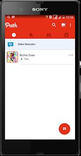 BBM Mod Path Theme 3.0.0.18 Jejaring Sosial Style