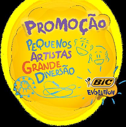 """Promoção """"Bic Evolution Pequenos Artistas Grande Diversão"""""""