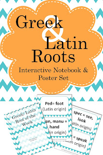Greek & Latin Roots Set