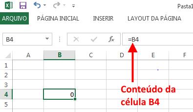 Referencia Circular no Excel - Exemplo 1
