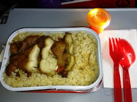 Hot Meals Air Asia