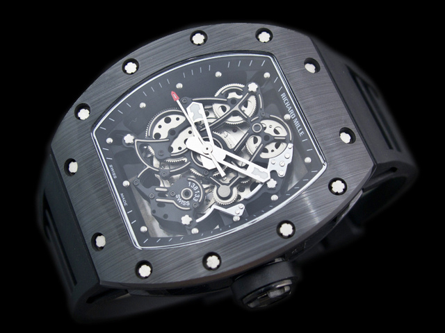 watch88  replica Richard Mille RM 055 skull watch 262857739ae8