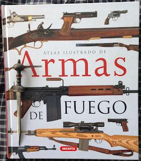 Portada del libro Atlas ilustrado de armas de fuego, de Chris McNab