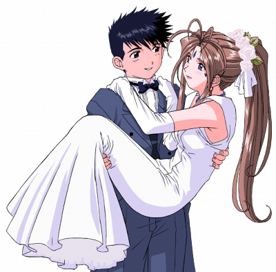 render Belldandy y Keichi