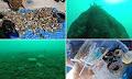 Κορινθία: Ανέλκυσαν 543 τεμάχια ανθρώπινης ρύπανσης από τον βυθό της Λίμνης Βουλιαγμένης (φώτο)