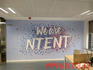 Graffiti We are Ntent Oficina