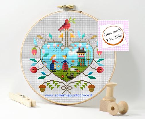 pattern stitch primitive