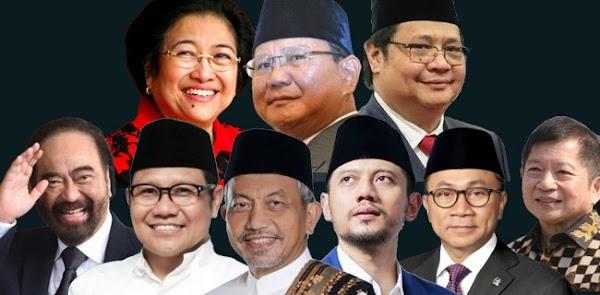 Bukan Semata Soal Hidayah, Sembilan Pimpinan Parpol Memang Tidak Berdaya
