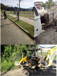 Prefeitura de Miracatu realiza diversos serviços de limpeza pelo município