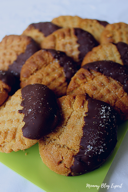 Peanut Butter Dark Chocolate Cookies Recipe